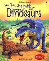 See Inside: The World of Dinosaurs (Usborne Flap Books) (Usborne See Inside)