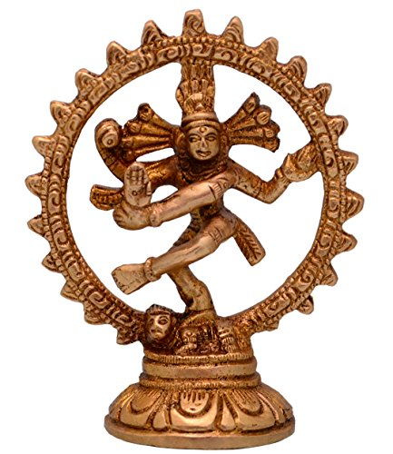 Purpledip Nataraja Lord Shiva Mahadev danza Pose latón