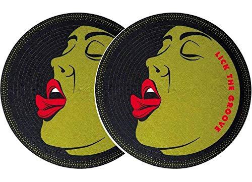 slipmat-Factory Lick the Groove Slipmat, 2 Stück