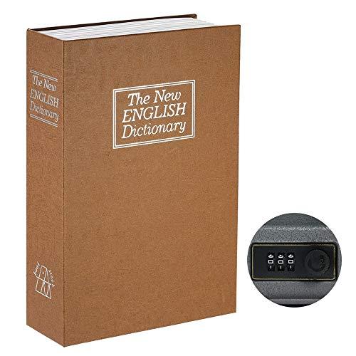 Weehey Caja de Seguridad con Caja de Seguridad Oculta con Cerradura de...
