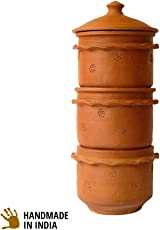 Daily Dump Khamba - 3 Tier Large Terracotta Home Composter