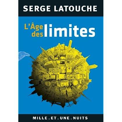 L'Âge des limites (Les Petits Libres t. 82)