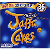 McVities Jaffa Cakes Triple Pack 36 450g