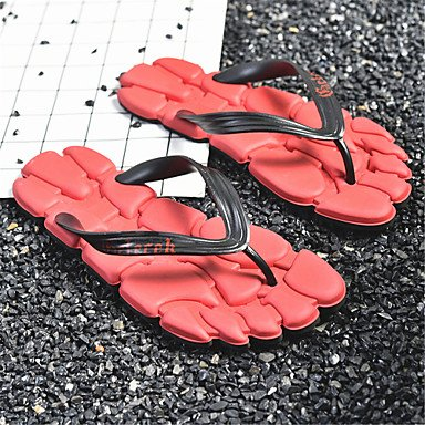 Slippers & amp da uomo;Coppia scarpe primavera estate Comfort Light Soles Outdoor Casual piatto Heel sandali US6.5-7 / EU37 / UK4.5-5 / CN37