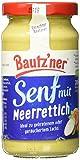 BAUTZ'NER Meerrettich Senf, 200 ml