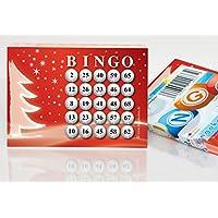 100-groe-Bingokarten-fr-die-Weihnachtsfeier-25-aus-75-Zahlen DiPrint 100 große Bingokarten für die Weihnachtsfeier 25 aus 75 Zahlen -