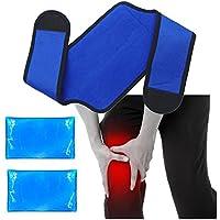 Knie Kühlkissen Gel kühlpads für Knie Heiße Kalte Therapie - Ideal für Knie Gelenkschmerzen, Schwellung, Meniskusriss... preisvergleich bei billige-tabletten.eu