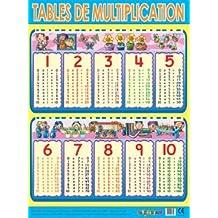 Affiche table de multiplication - Logiciel educatif tables de multiplication ...