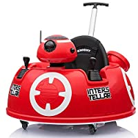 Baby Ride-On Push Around Buggy Scooter Toys for Kids Remote Control Car & Swing Car - Red