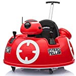 Baby Ride On Push Around Buggy Scooter Toys for Kids Remote Control Car & Swing Car  - Red