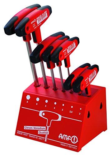 Werkstattständer (Werkzeughalter), Quergriffschraubendreher, 7-teilig - Länge: 100 - 150 - 200 mm -  906QE-WM7-49577