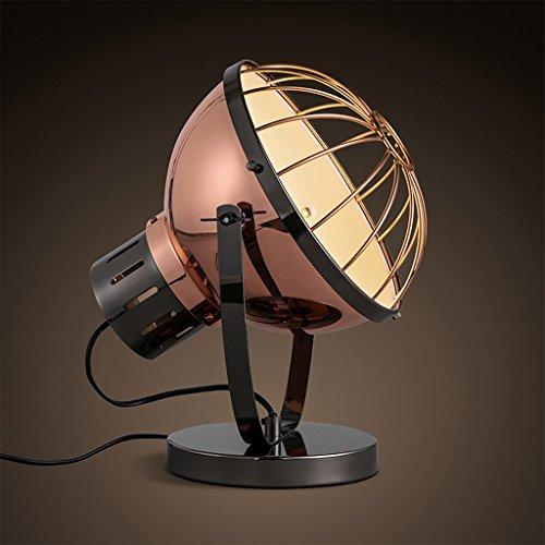 13w Luft (LOFAMI Retro industrielle Luft Käfige Schatten einstellbare Energiesparlampen, dekorative Lampen Nostalgie Büro des Hotel (Color : 34 * 24cm-13W White))
