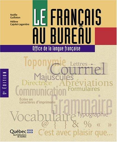 Le Français au Bureau par Cajolet
