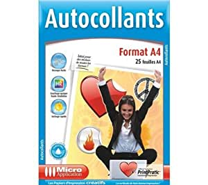 Micro Application autocollant A4