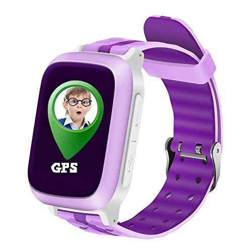 PINCHU S18 GPS Smart phone Reloj ni?os Ni?os beb¨¦ GPS LBS Locator...