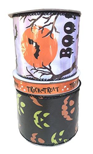 Behandeln und Halloween Night Bundle Of Drei Halloween themed Bänder ()