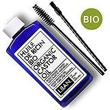 Huile de Ricin BIO - LBAN - 100 ml - Soin pour Cheveux, Cils, Ongles, Peau - Avec...