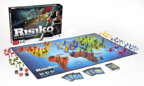 Hasbro-Spiele-28720100-Risiko-Strategiespiel