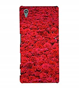 Nextgen Designer Mobile Skin for Sony Xperia Z5 :: Sony Xperia Z5 Dual 23MP (Flower Bloom Blossom Floret Floweret)
