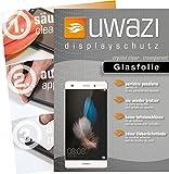 uwazi Huawei P8 Lite Glasfolie - gehärtete Schutzfolie mit Glasanteil