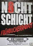 N8chtschicht - Gütersloh 2002 Konzert-Poster A1