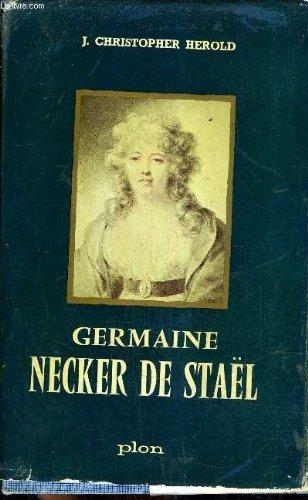 Germaine necker de stael