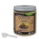 Quinoa Samen NortemBio 650g, Premium-Qualität. 100% natürlich. Ausgezeichnete Quelle von Proteinen und Vitaminen.