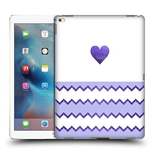 Ufficiale Monika Strigel Lilla Cuore Di Avalon Cover Retro Rigida per Apple iPad Pro 12.9