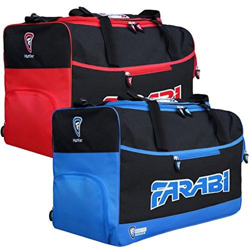 Farabi, Fitness-Studio Fitness Sportzeug Tasche, MMA, Boxen Ausrüstungstasche, Reisetasche Trainingsausrüstung Reisetasche (blau)