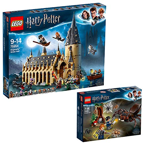 75954 LEGO Harry Potter Hogwarts Great Hall 878 Pieces Age 9+ and a Harry Potter Series Minifigure (random figure)