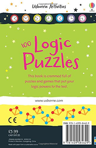 100 Logic Puzzles (Activity and Puzzle Books)