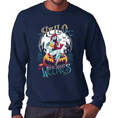TeeTrumpet Hello Weenies Sally Nightmare Before Christmas Men's Sweatshirt