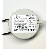 TCI ROUND 60 cod.119640 mini trasformatore elettronico dimmerabile 230v