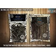 The Biltong Man Biltong and Droëwors Combo (Tasty Traditional, 400g)