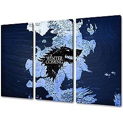 Posters de la serie de Juego de Tronos. Una de las series que están más de moda en la actualidad.