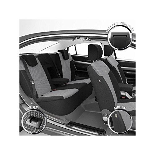 Coprisedili-Auto-Vettura-Su-Misura-Rifinizioni-Alta-Gamma-Montaggio-Rapido-Compatibile-Airbag-Isofix-112915