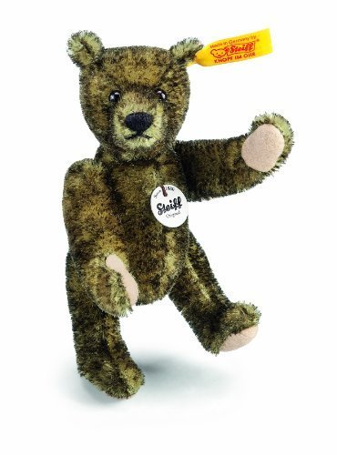 Classic Mini Teddy Green Tippe by Steiff