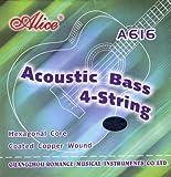 Alice - Juego de cuerdas para bajo acustico o electro-acustico nuevo