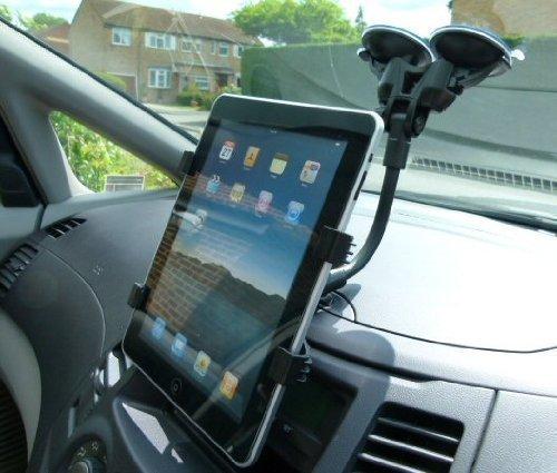 Ultimate Addons Saugnapf Plus Duale Saugnapf Windschutzscheiben Halterung für das Apple iPad (SKU 10086)