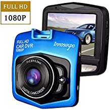 Auto Kamera, Mini FHD 1080p Dashcam Auto DVR Kamera Dashcamera Recorder mit 140° Weitwinkelobjektiv G-Sensor Parkplatz Monitor Bewegungserkennung Loop Aufnahme Blau