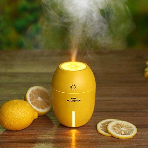 Ecoastal USB Auto Olio Essenziale Diffusore purificatore d'aria di aggiornamento diffusore 180ml Mist umidificatore ad (Esterno Miglior Olio)
