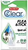 Bob Martin Flea and Tick Spot On Cats, 4 Weeks