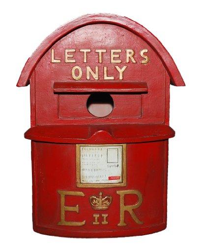 Einer der wenigen farbigen antiken Briefkästen