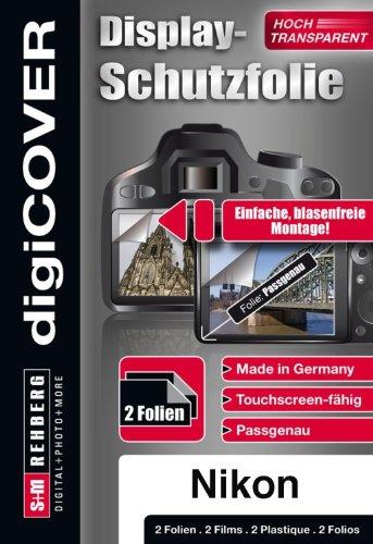 digiCOVER Monitordisplayschutzfolie für  Nikon Coolpix S4300