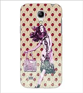PrintDhaba Cute Girl D-3882 Back Case Cover for SAMSUNG GALAXY S4 MINI (Multi-Coloured)