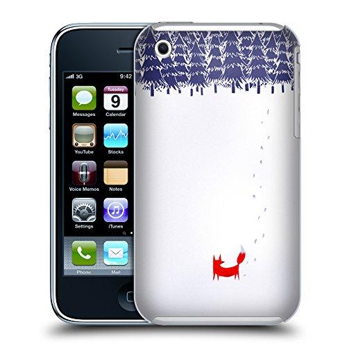 Offizielle Robert Farkas Plattensee Fuchs Fuchs Ruckseite Hülle für Apple iPhone 6 Plus / 6s Plus Allein Im Wald