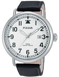 Pulsar PS9249X1 - Reloj de pulsera hombre, piel, color negro