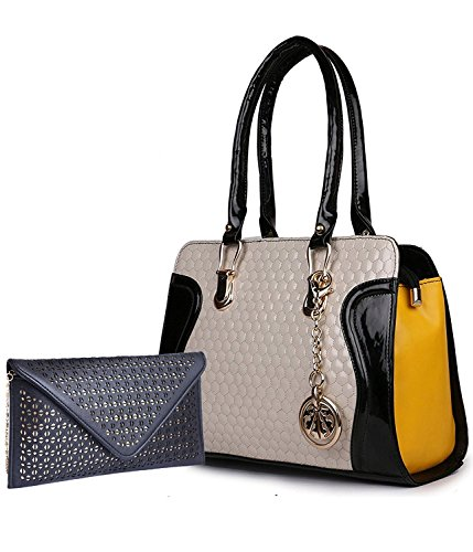 Classic Fashion Black Color Handbag Combo for Women and Girls