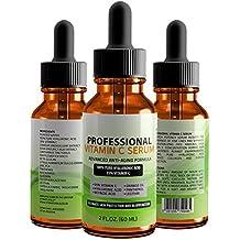 Serum profesional 35% de vitamina C con ácido hialurónico y ácido retinoico 100% puros