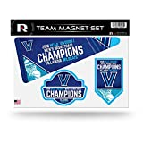 Rico NCAA Villanova Wildcats 2018 pour Homme National Basketball Champions Die Cut Team Aimant de Feuille